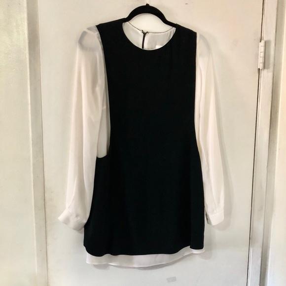 A.L.C. Dresses & Skirts - A.L.C. Two Tone Salt & Pepper Dress